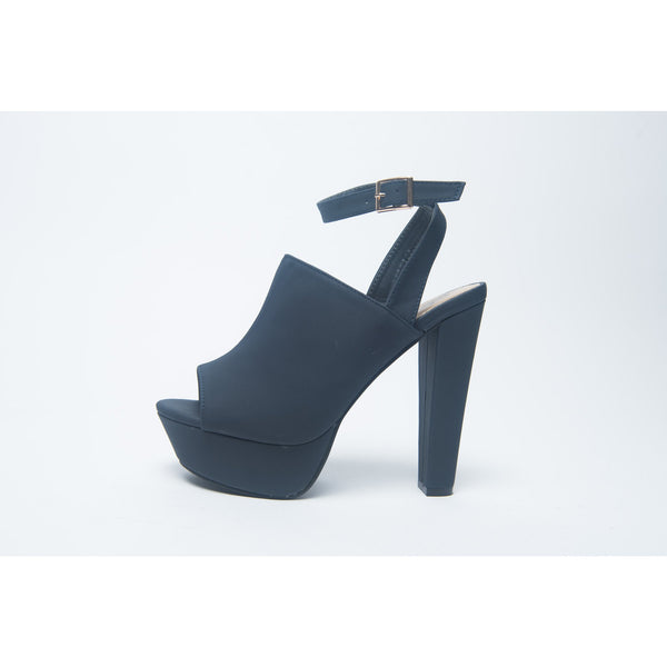 LENA - Navy Blue Pump - FINAL SALE