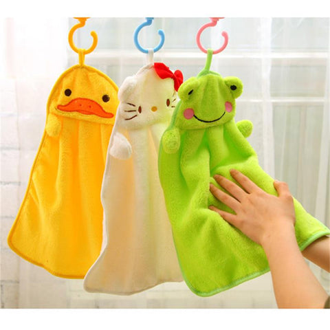 Cute Hand Towel for Kids