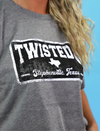 Twisted J Square Tee
