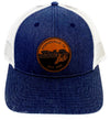 Live Circle Lthr Patch Cap