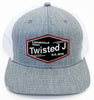 Red, White, & Twisted J Cap