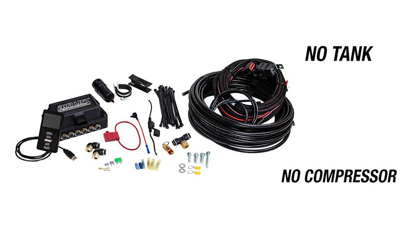 "Airlift Performance 3P Management - 1/4"" Air Line, No tank, No Compressor"