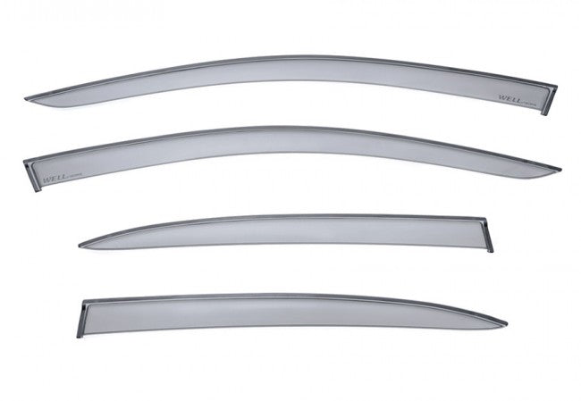 WellVisors window deflectors for Scion iA / Toyota Yaris iA 16-19 Premium Series