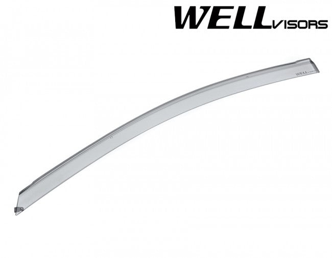 WellVisors Side Window Deflectors for Scion iM Toyota Corolla iM 16-18 Premium Series