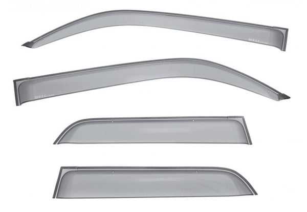 WellVisors Side Window Deflectors Toyota 4Runner 10-18 Premium Series