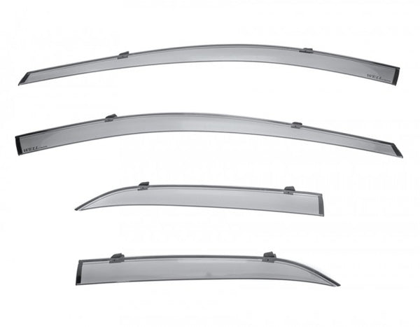 WellVisors window deflectors for Toyota Corolla Hatchback 2019+ Premium Series