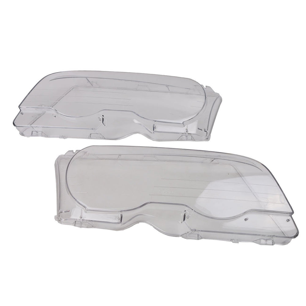 E46 M3 - Pair of Replacement Headlight Lenses for Xenon Headlights