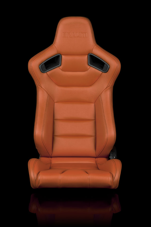 ELITE SERIES RACING SEATS (BRITISH TAN) – PAIR