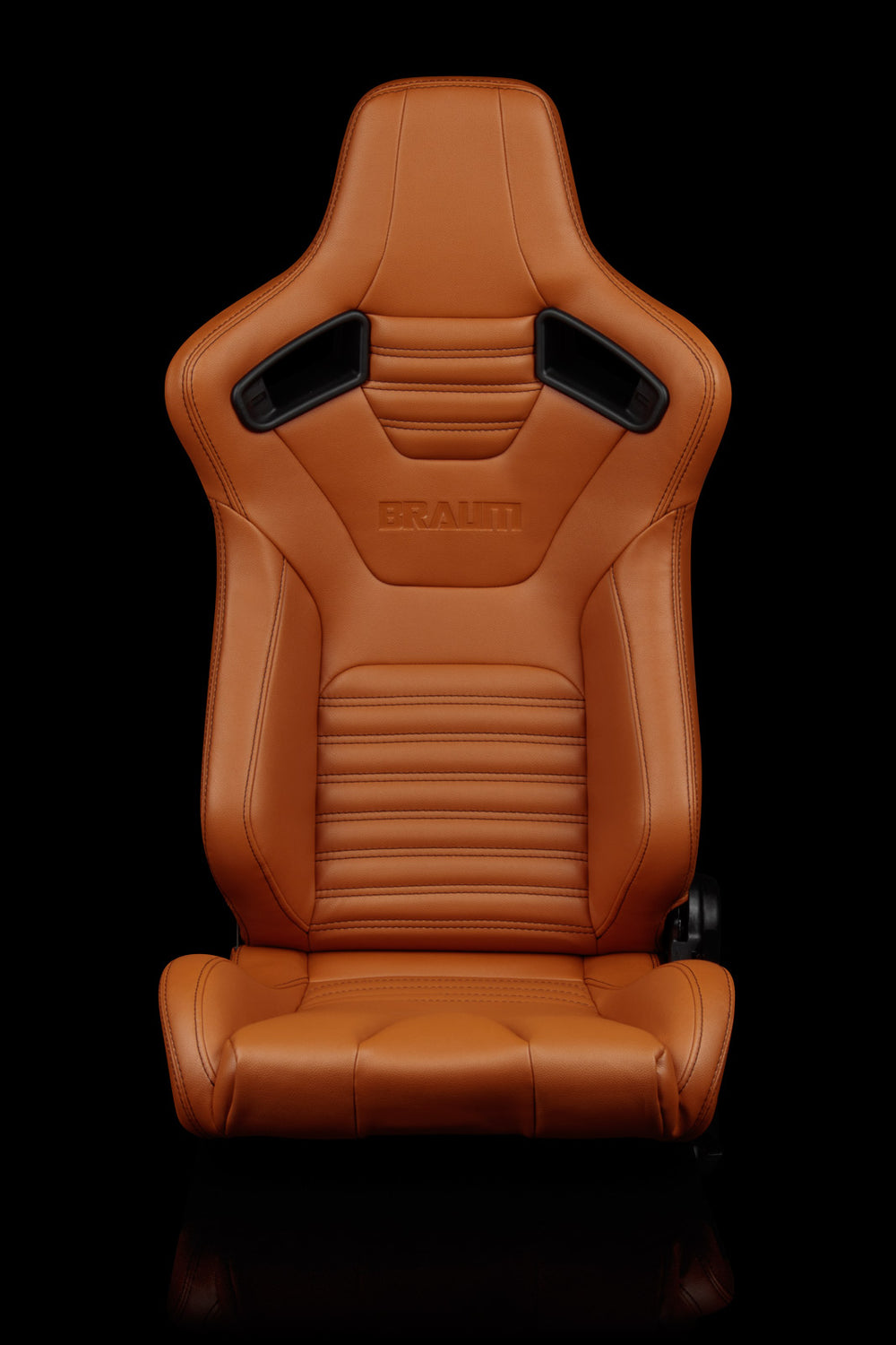 ELITE-X SERIES RACING SEATS (BRITISH TAN LEATHERETTE) – PAIR