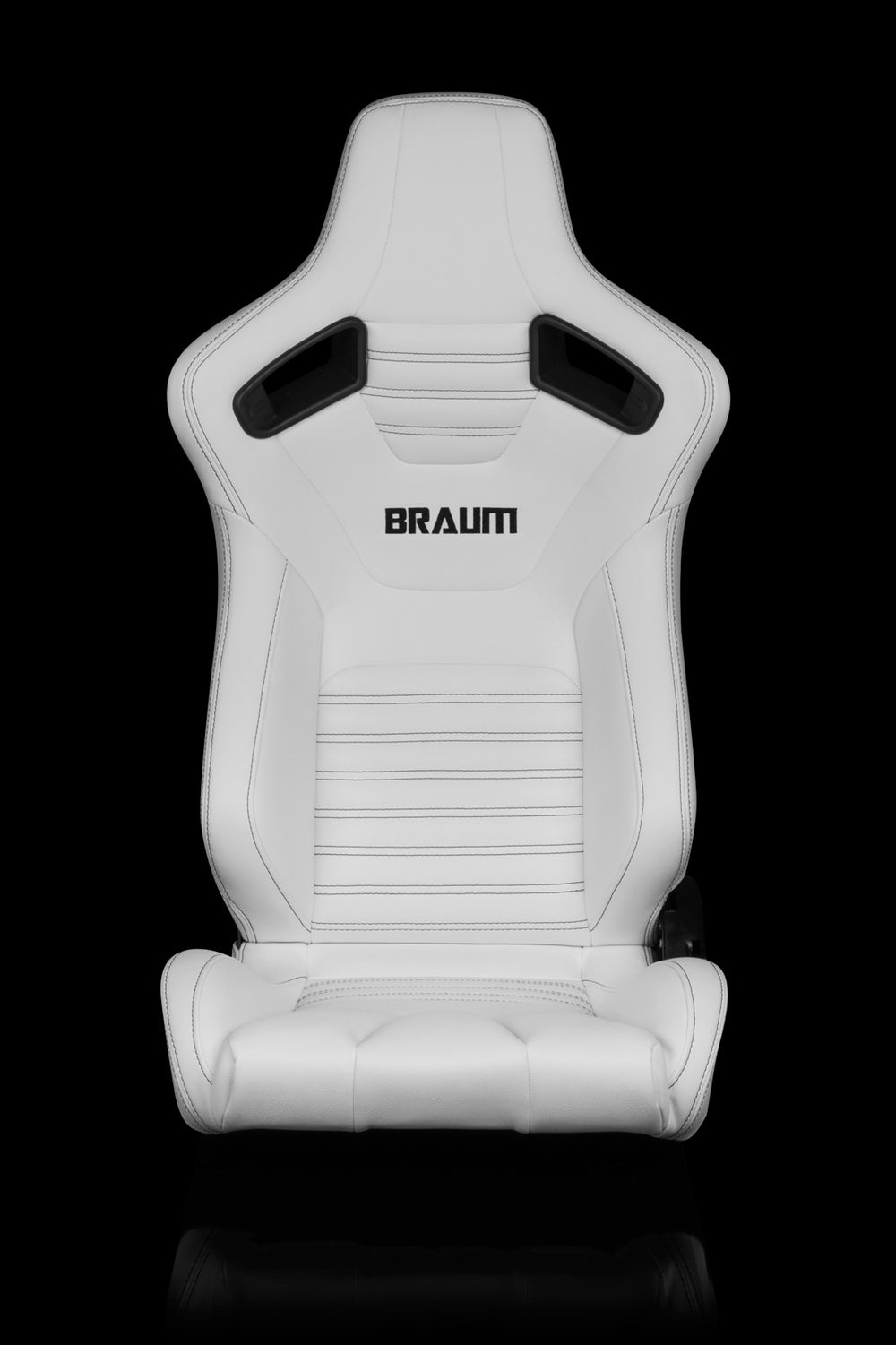 ELITE-X SERIES RACING SEATS (WHITE LEATHERETTE) – PAIR