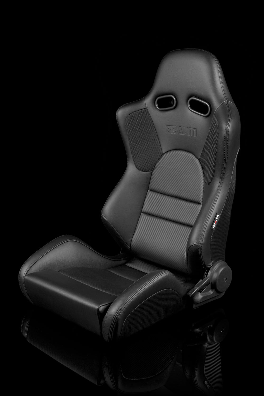 ADVAN SERIES RACING SEATS (BLACK LEATHERETTE) – PAIR