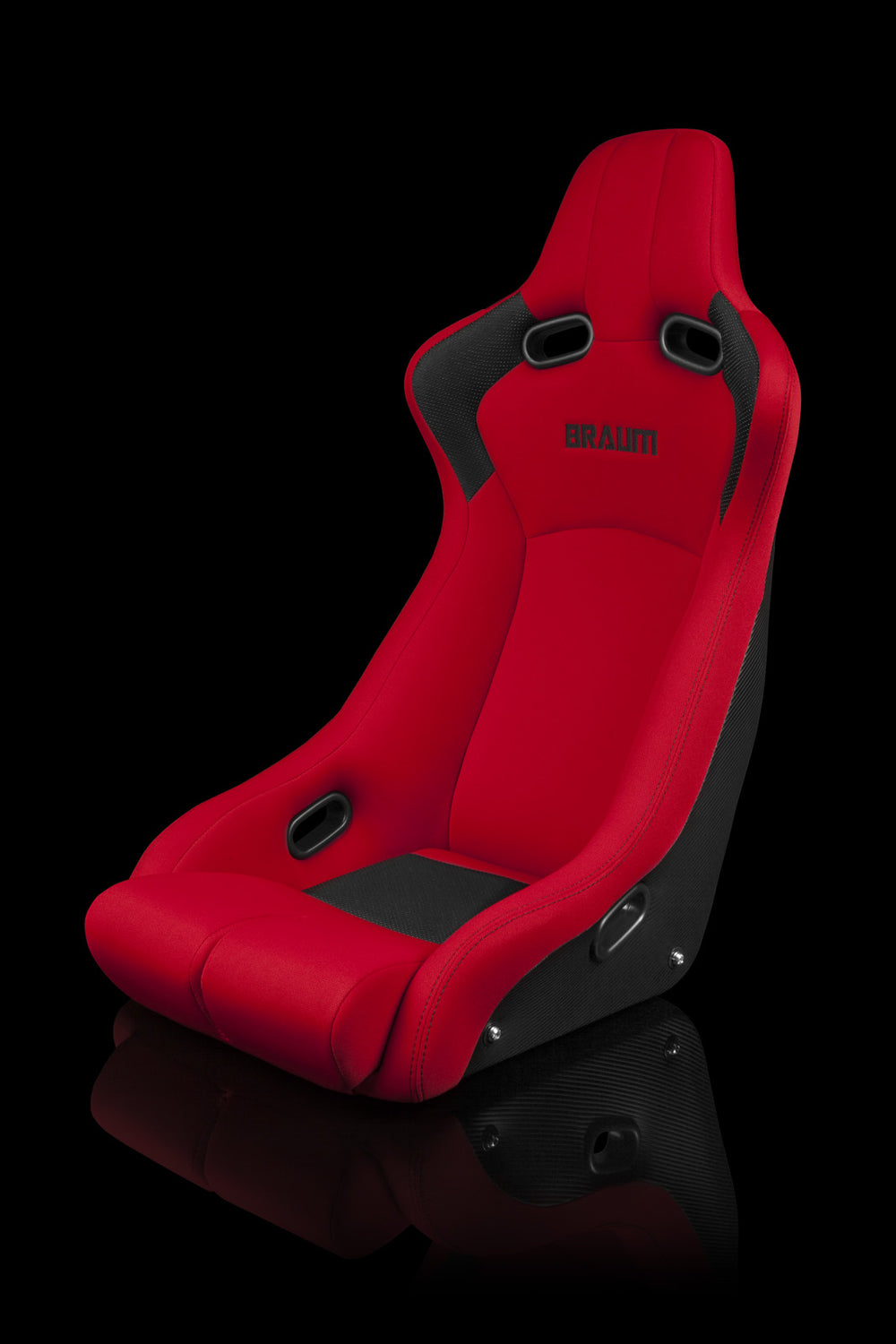 VENOM-R FIXED BACK BUCKET SEAT [RED]