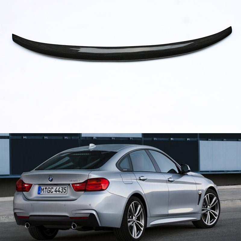 BMW F36 Gran Coupe Performance Style Carbon Fiber Trunk Spoiler