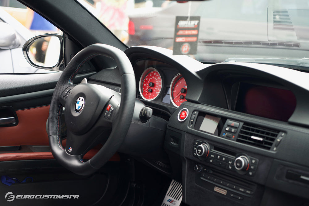 BMW E90/E92/E93 M3 Red Start/Stop Button