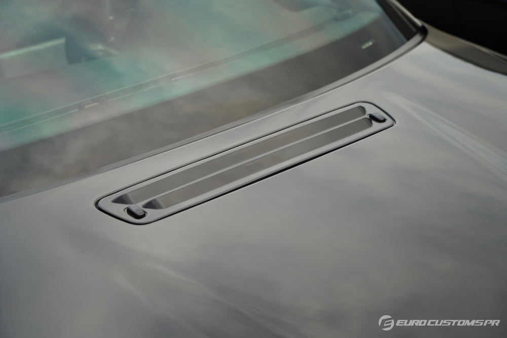 "BMW E46 M3 ""Heat Extractor Style"" Hood Vent Grille"