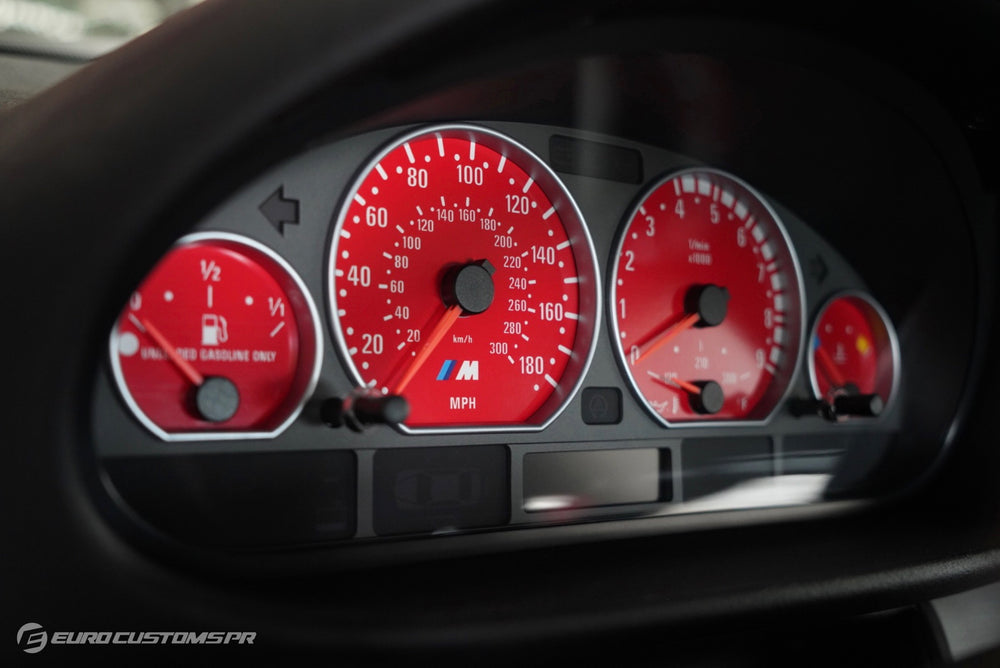 BMW E46 M3 (MPH) - Cluster Overlays