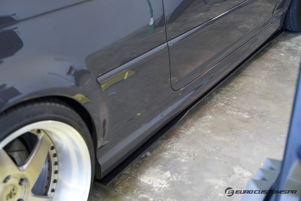 ECPR - E46 M3 Side Skirt Extensions / Splitters set of 2