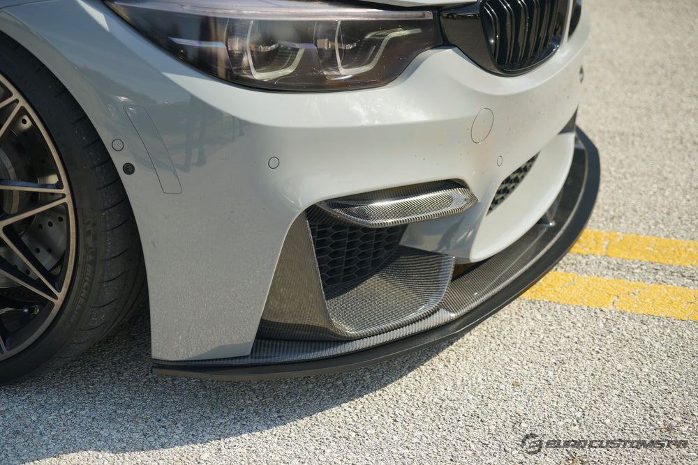 ECPR - BMW F8x M3/M4 Splitter for Carbon Fiber or ABS M Performance Style Front Lip (Ships in 2-3 weeks.)