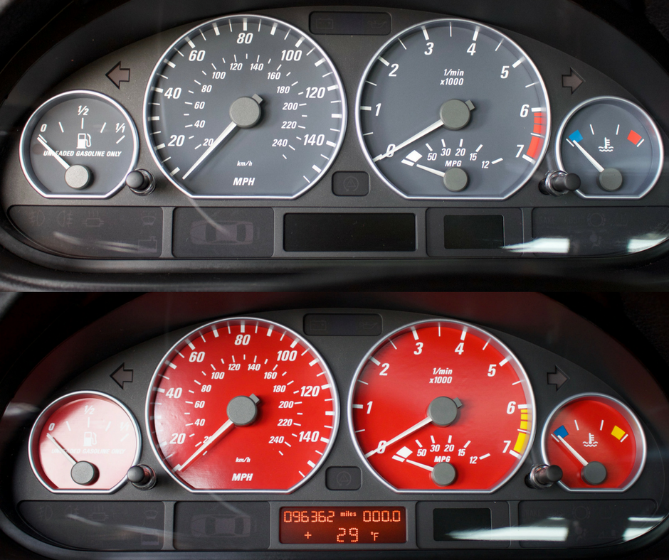 e46 instrument cluster replacement