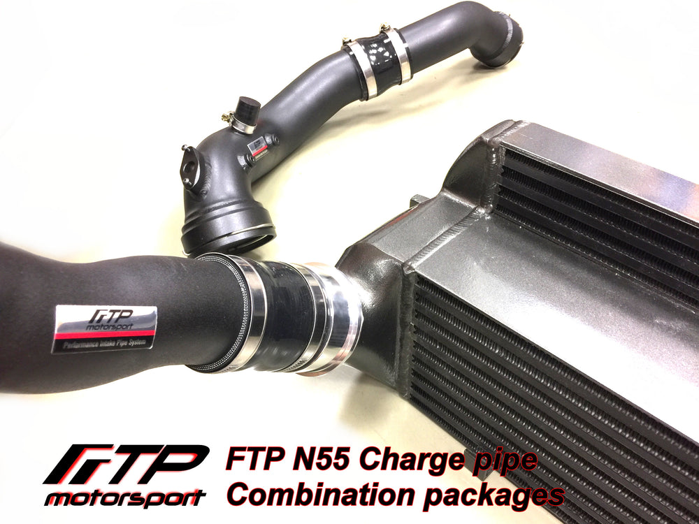 BMW - F2X/F3X N55 Charge Pipe Kit + Boost Pipe Combination Package
