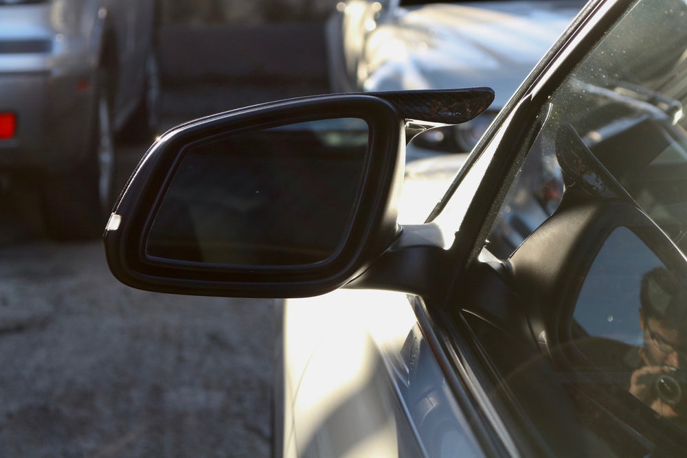 BMW F32 - 4 Series / F30 - 3 series / F22 - 2 Series M4 style Carbon Fiber Mirror Covers