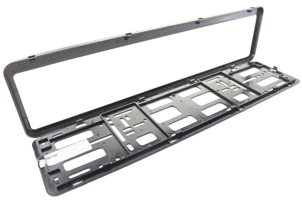 European License Plate Frame - Universal