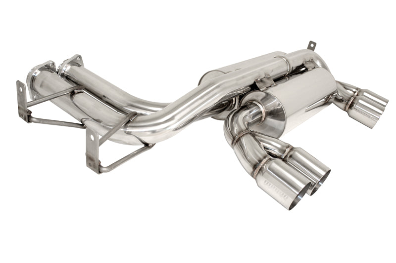 BMW E46 M3 Megan Racing Axle Back Exhaust with Polished Tips