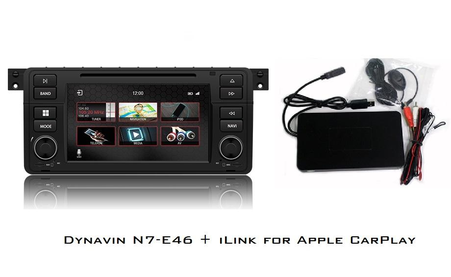 Dynavin N7-E46 Radio Navigation System, for BMW 3 series 1998-2006