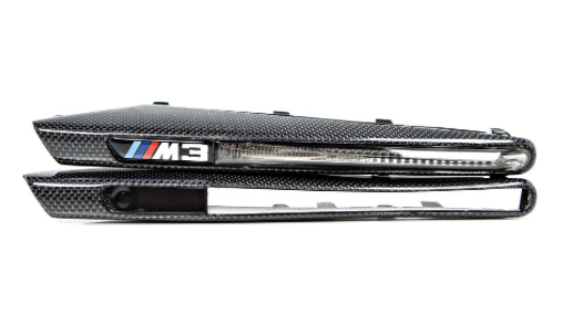 E9X M3 Carbon Fiber Side Marker Set