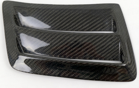 Mercedes W204 C63 Carbon Fiber Front Bumper Air Vents