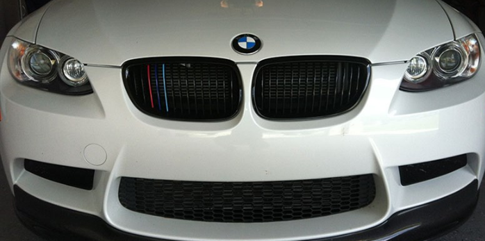 BMW E90 E92 E93 M3 Gloss Black Grilles
