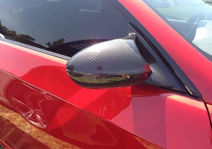 BMW E90 E92 E93 M3 Carbon Fiber Mirror Covers