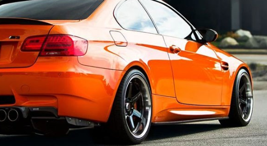 BMW E92 M3 Carbon Fiber Side Skirt Extensions