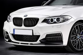 BMW F22/F23 2 Series Gloss Black Grilles