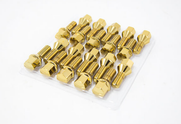 Lug Bolts 20PC 14X1.25 Gold