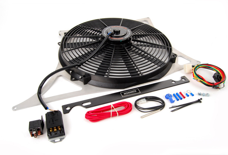 Mishimoto - Performance Aluminum Fan Shroud Kit for E46 M3