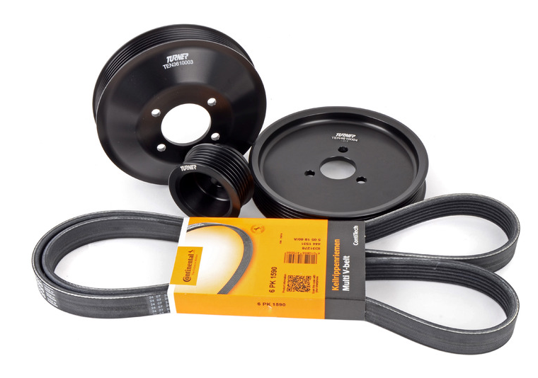 E46 Non-M3 Turner Motorsport Power Pulley Kit
