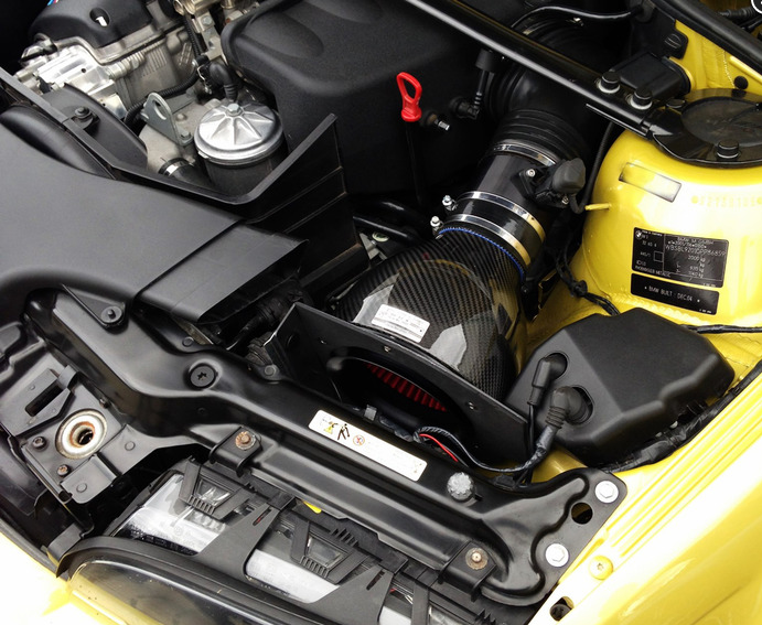 E46 M3 - Eventuri Performance Intake - Black Carbon
