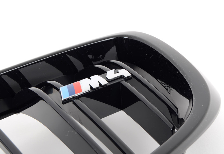 BMW M4 OEM Competition Package Blackout Grille - Set