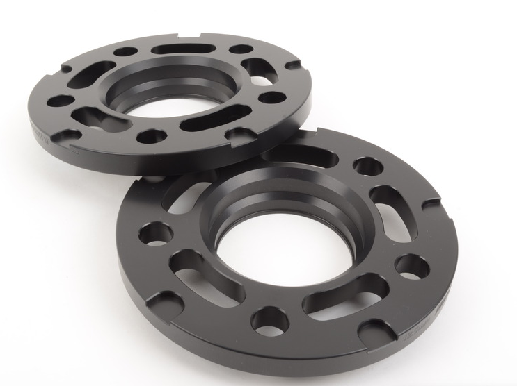 12.5mm Big Pad Wheel Spacers - Black (Pair)