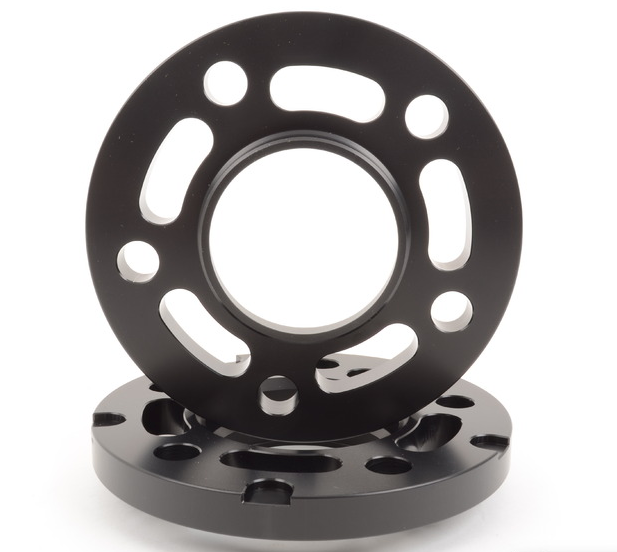 15mm Big Pad Wheel Spacers - Black (Pair)