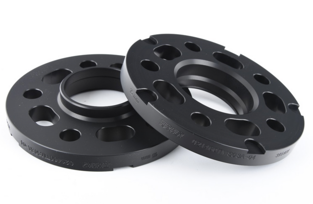 15mm Wheel Spacers - Black (Pair) - For Porsche Macan