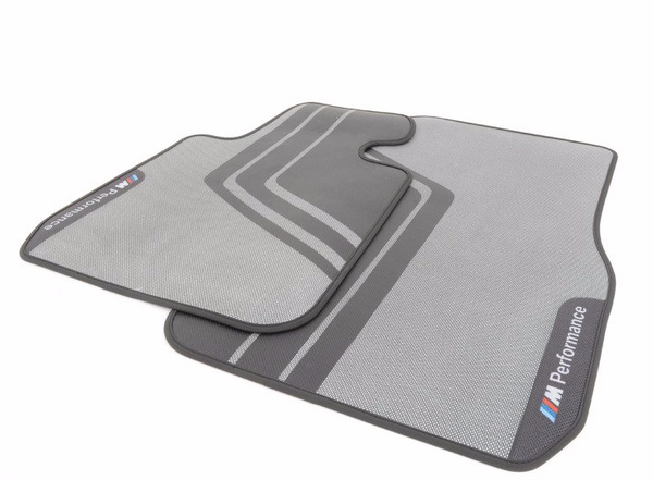 M Performance Carpeted Floor Mats - Front