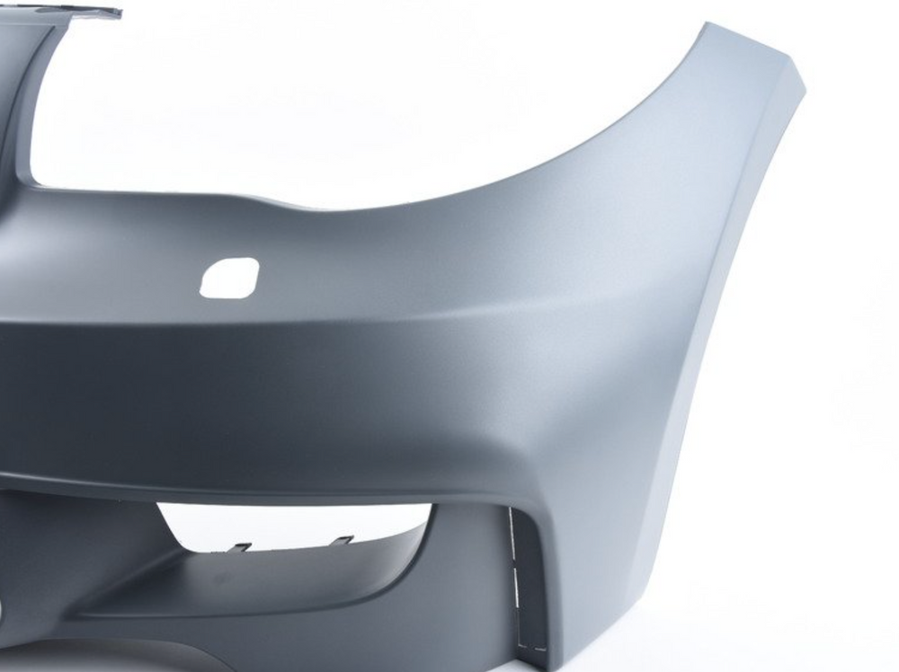BMW E82 1 Series - 1M Style Front Bumper with Air Ducts (With PDC)