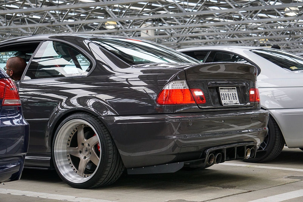 ECPR - E46 M3 Rear Diffuser Splitters with Fins
