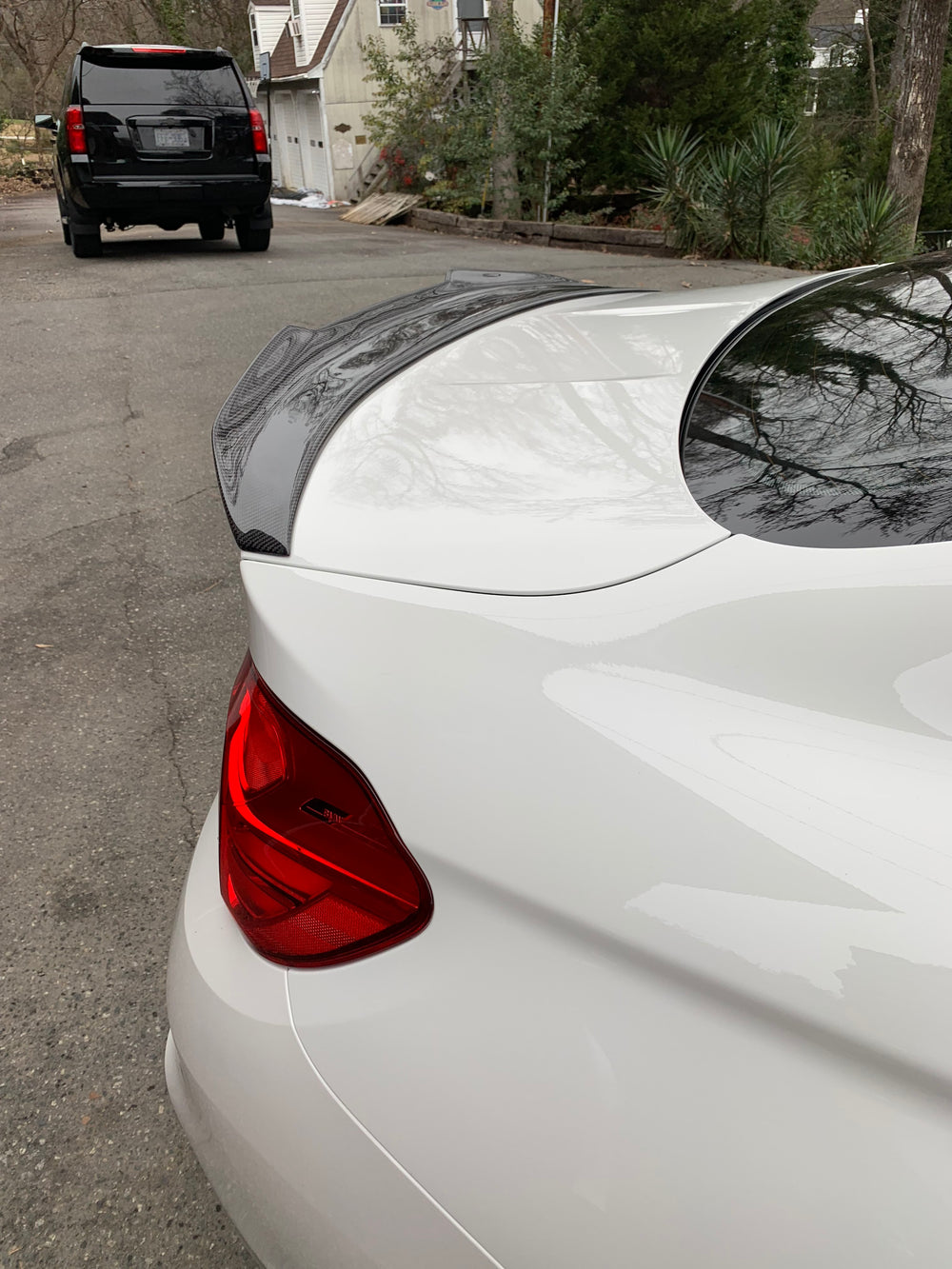 "BMW M4 F82 - ECPR ""High Kick"" Carbon Fiber Trunk Spoiler"