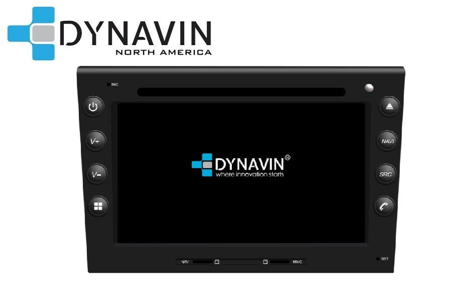 NEW! Dynavin N7-PS PRO Radio Navigation System, for Porsche '05-'12 Boxster/Cayman/Carrera/911 + MOST Adapter