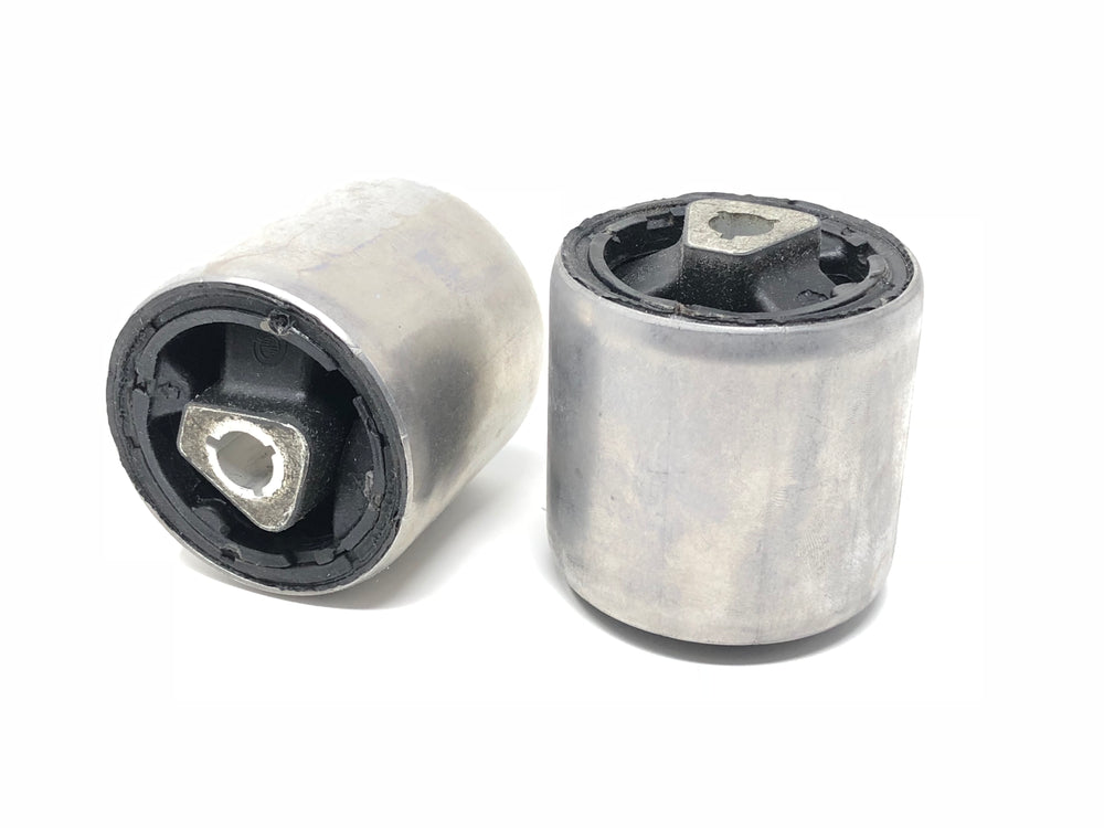 BMW E60 Pair of Front Thrust Arm Bushing - Forward Position