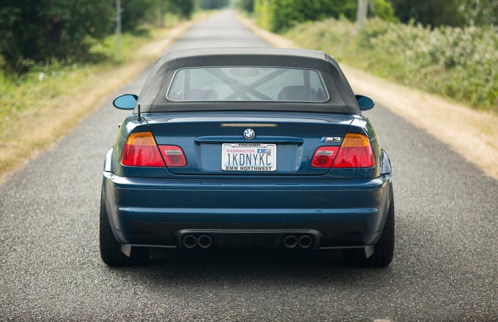 ECPR - Set of E46 M3 Rear Bumper Splitters with Fins