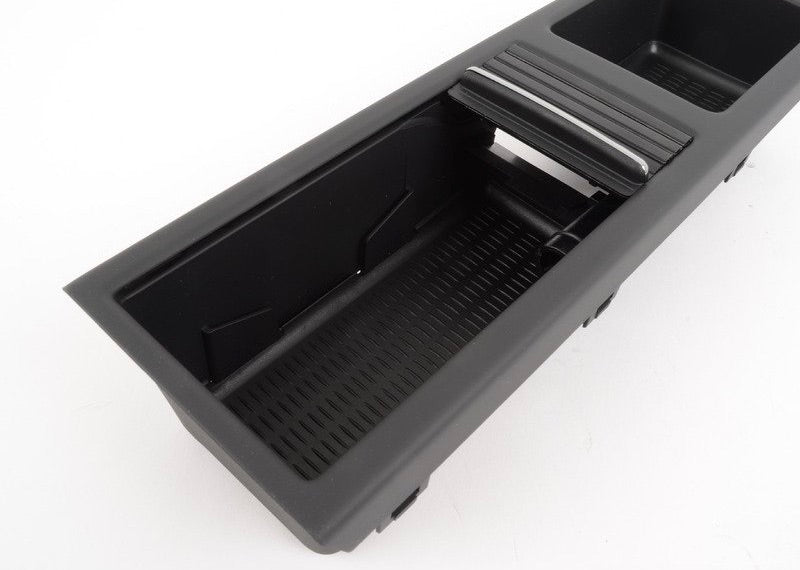 BMW E46 Center Console Storage - Black